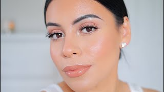 EVERYDAY GLOWY MAKEUP ROUTINE IN NATURAL LIGHT *no studio lights*