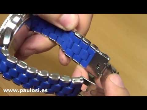 Ajustar cadena reloj con eslabones