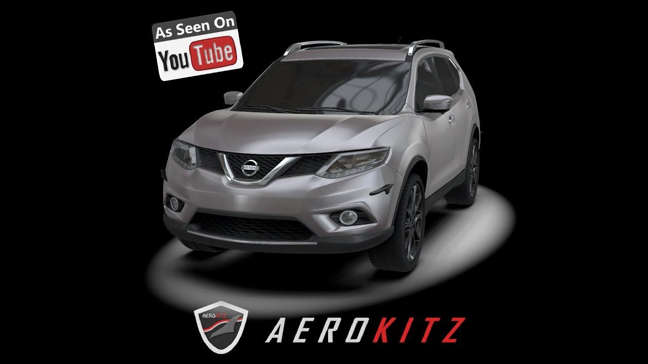 Aerokitz Aksesoris Modifikasi All New Nissan X Trail Premium Style