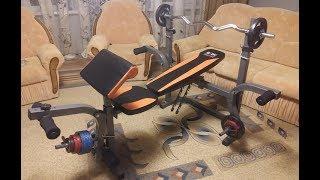 Сборка тренажера скамья для жима BW-3210 АЕН