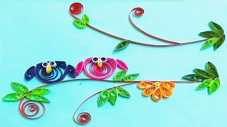 quilling artwork | How to Make Cute Owl