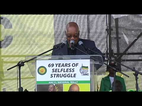 Zuma urges ANCYL members to learn from Peter Mokaba
