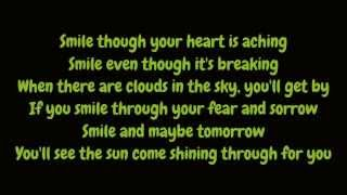 Nat King Cole - Smile (Lyrics HD)