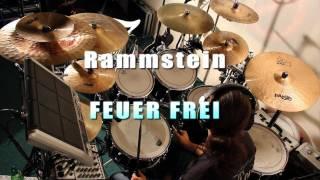 Rammstein - Feuer Frei - Drumcover by knuppsli