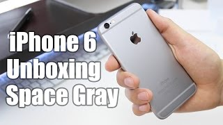 iPhone 6 Unboxing (Space Gray)
