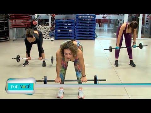 Por Você - Atividade Física: exercícios para iniciante 30/06/18
