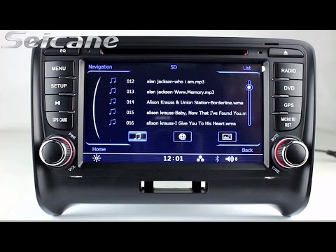 2006 2013 audi tt mk2 radio stereo removal upgrade with 3d navigation rgb digital screen lcd. Black Bedroom Furniture Sets. Home Design Ideas
