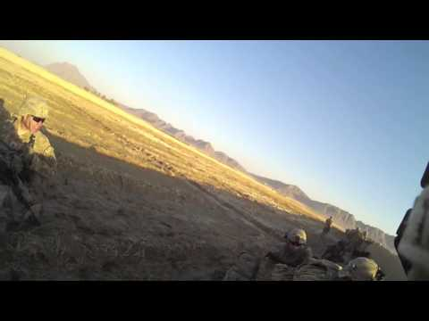 Firefight in Panjwaii Afghanistan