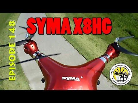 Syma X8HG Stock vs GoPro Quadcopter Review