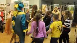 видео Литературные игры в библиотеке