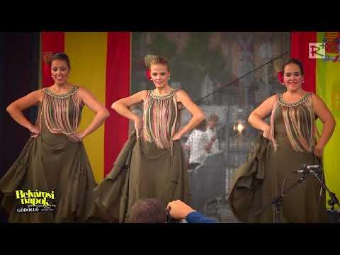 Coproduction of Gödöllő Folk Dance Group and Valdemoro Flamenco Dance Group - 09.08.2017.