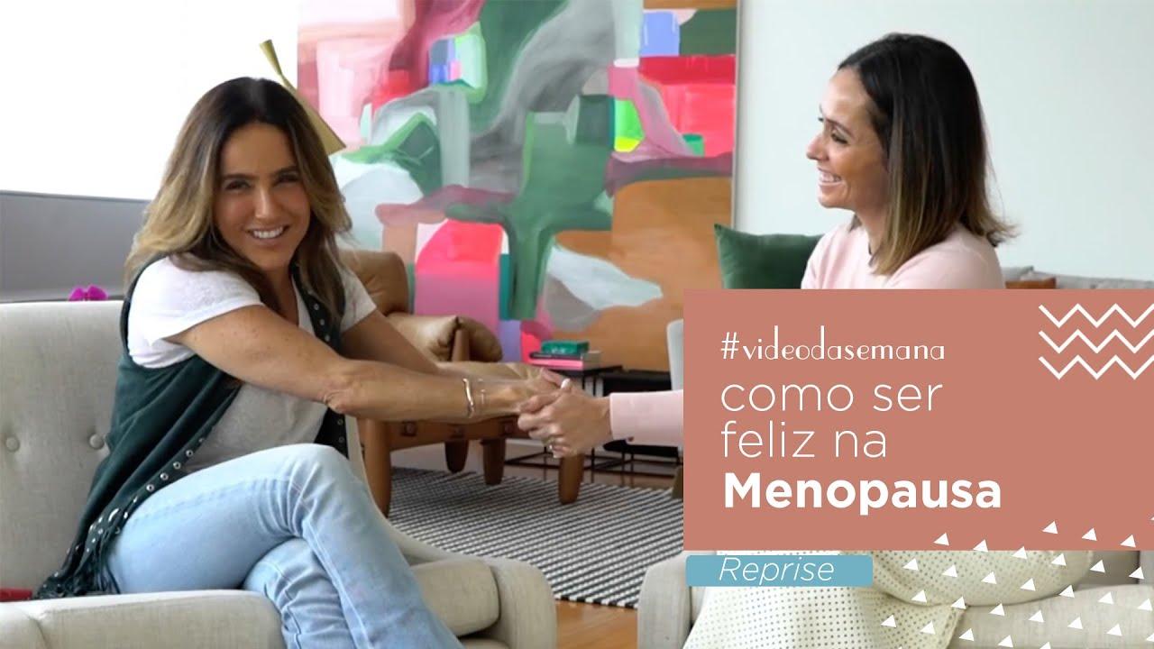Como ser feliz na menopausa?