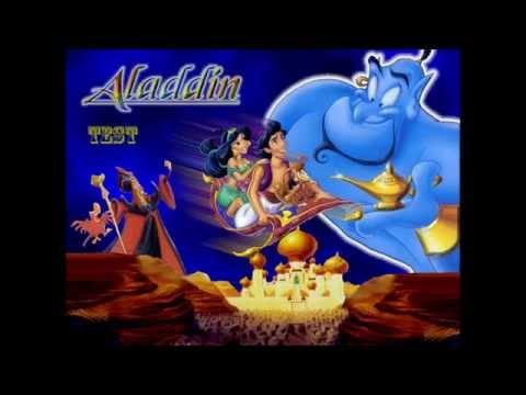 Walt Disney Aladdin - Virtual piano (teste) 【HD】 By Jérémy Waeytens