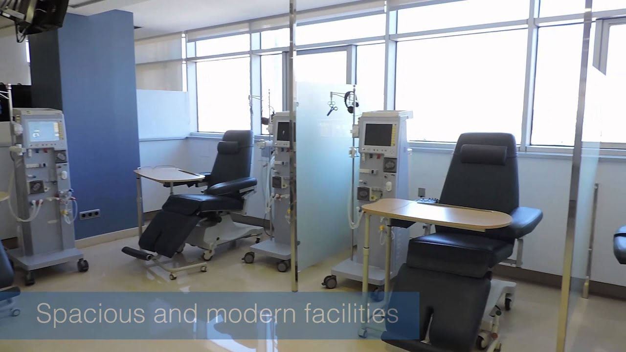 Dialysis Centre in Hospital IMED Levante Benidorm