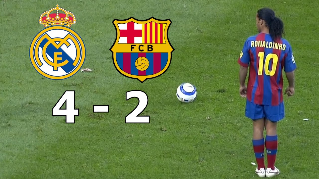 Download ►REAL MADRID 4-2 FC BARCELONA ◄ ▪ 2005/2006 Highlights Commentary ▪ HD