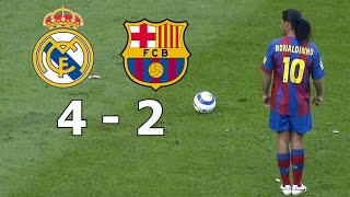 Tags: ►real madrid 4-2 fc barcelona ◄ ▪ 2005/2006 highlights commentary hd real vs all goals and with english commentary...