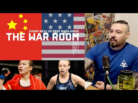 Dan Hardy's breakdown of UFC 261's Namajunas vs Zhang champ fight.