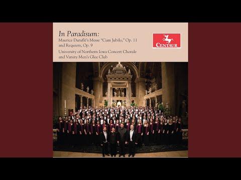 Requiem, op. 9 (version for voice, choir, organ & cello) : vi. agnus dei (live) mp3