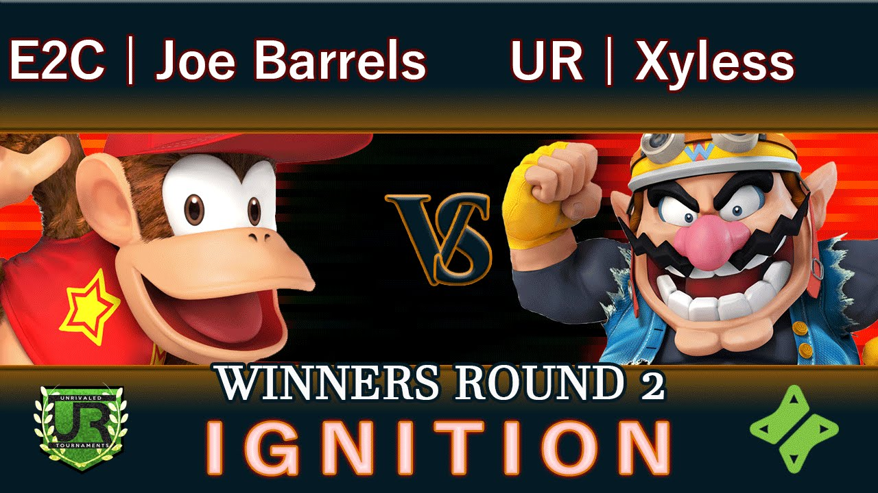 Download Ignition #60 WINNERS ROUND 2 - E2C | Joe Barrels (Diddy Kong) vs UR | Xyless (Wario)