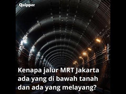 Kenapa Jalur Mrt Jakarta Ada Yang Di Bawah Tanah Dan Ada Yang