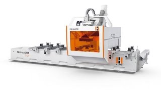 Holzher Pormaster 5 Axis Cnc Machining Center