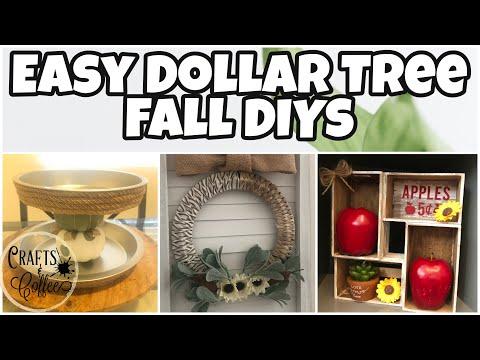 Dollar Tree Fall 2020 DIY | Dollar Tree Diy Room Decor 2020