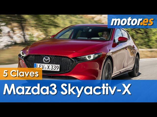 Mazda3 Skyactiv-X, las cinco claves que lo definen