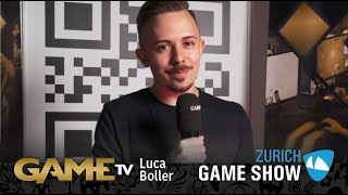 Game TV Schweiz - Interview mit Luca Boller | E-Sportler FCB 1893 | Zürich Game Show