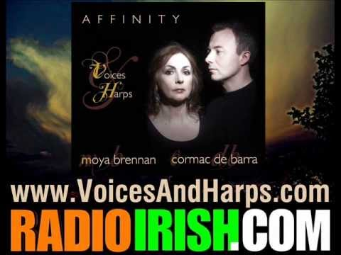 MOYA BRENNAN CORMAC DEBARRA RELEASE AFFINITY - INTERVIEW ON RADIO IRISH