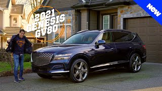 2021 Genesis GV80 Review - It's a SUPER Stunning Luxury SUV