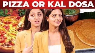 PIZZA or KAL-DOSA?? Vedhika Ultimate Reply | 90s Kids vs 2K Kids
