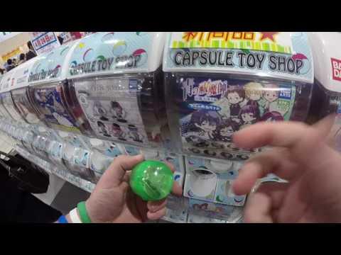 2017 Japan Trip - Blue Exorcist Gashapon Machine (GoPro Video #6)