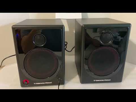 Basic sound test Cerwin Vega XD5