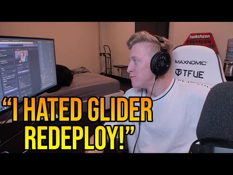 Tfue Explains Why Glider Re-Deploy *RUINED* Fortnite (He Likes Fortnite Now)