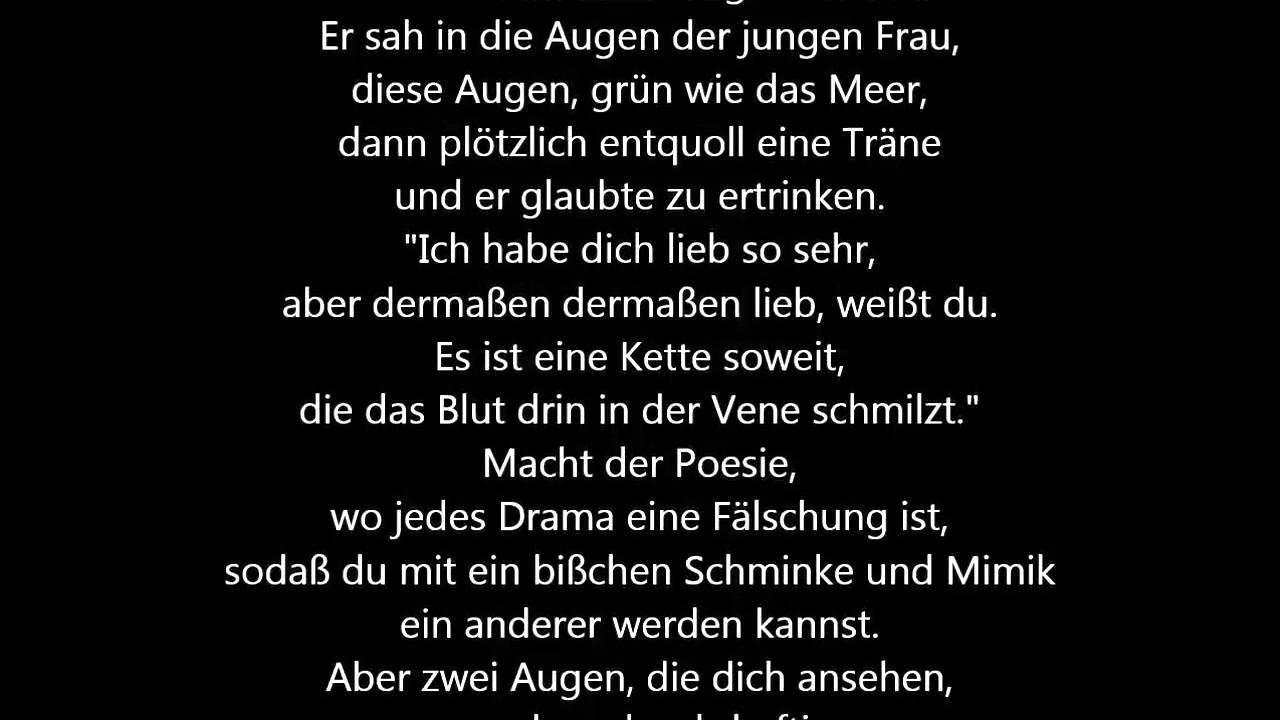 Lucio Dalla - Caruso [Deutsche Übersetzung / German Lyrics] - YouTube