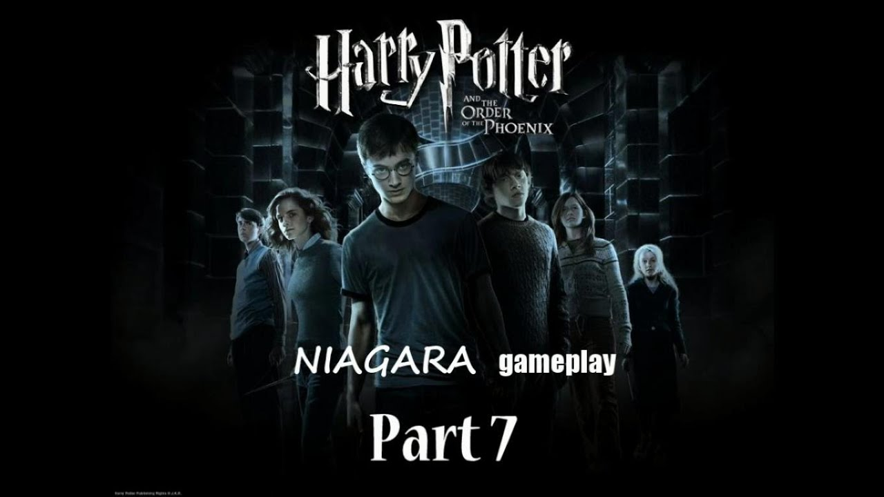 Гарри Поттер и орден Феникса Прохождение Часть 7 - YouTube