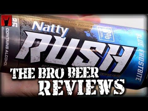 Natty Rush Blue 8% abv - The Bro Beer Reviews