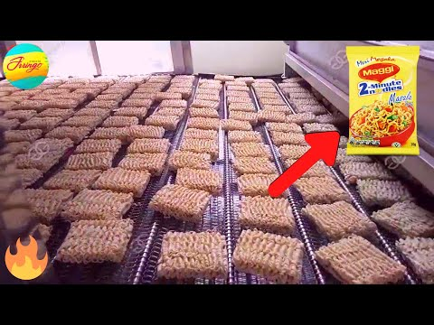 आख़िर Factory में कैसे बनती है Maggi Noodles | 5 Amazing Food Manufacturing Factories