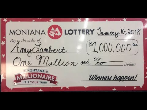 Montana Millionaire grand-prize winner claims jackpot