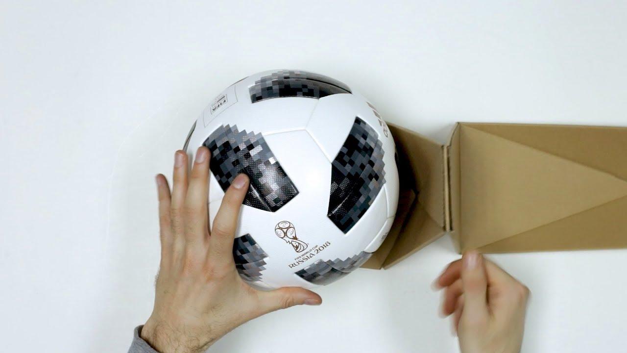 e2ef8856e2785 UNBOXING  El balón con chip NFC para el Mundial de Rusia - adidas TELSTAR 18