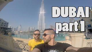 DUBAI VLOG PART 1 BURJ KHALIFA DUBAI MALL