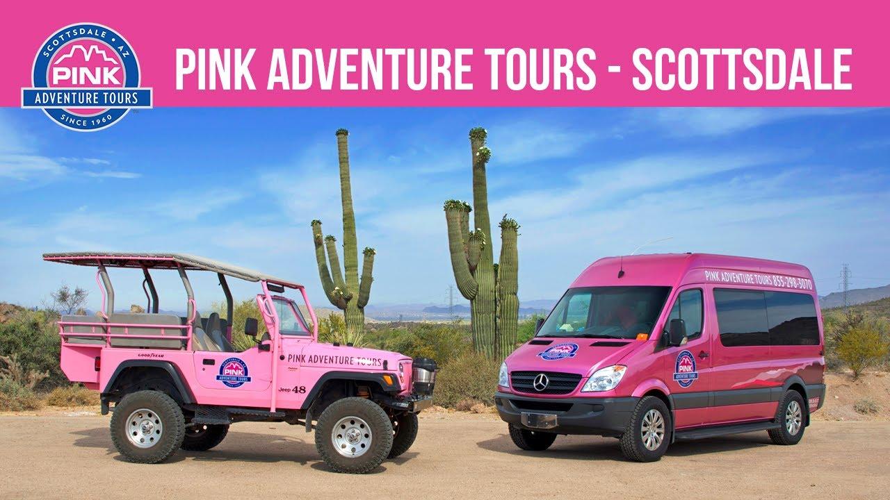 Pink Jeep Adventure Tours Scottsdale