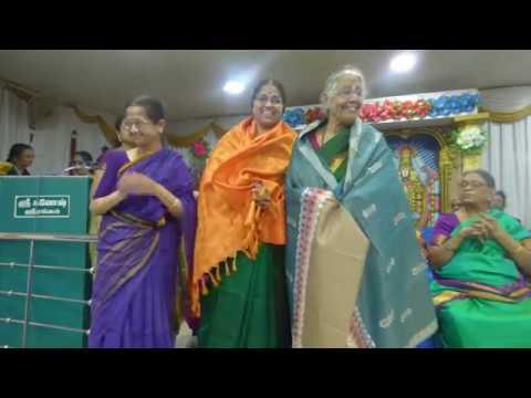 Strigal Stotra pata goshti, Srirangam Silver Jubilee Celebrations  7  Honouring Women Achievers