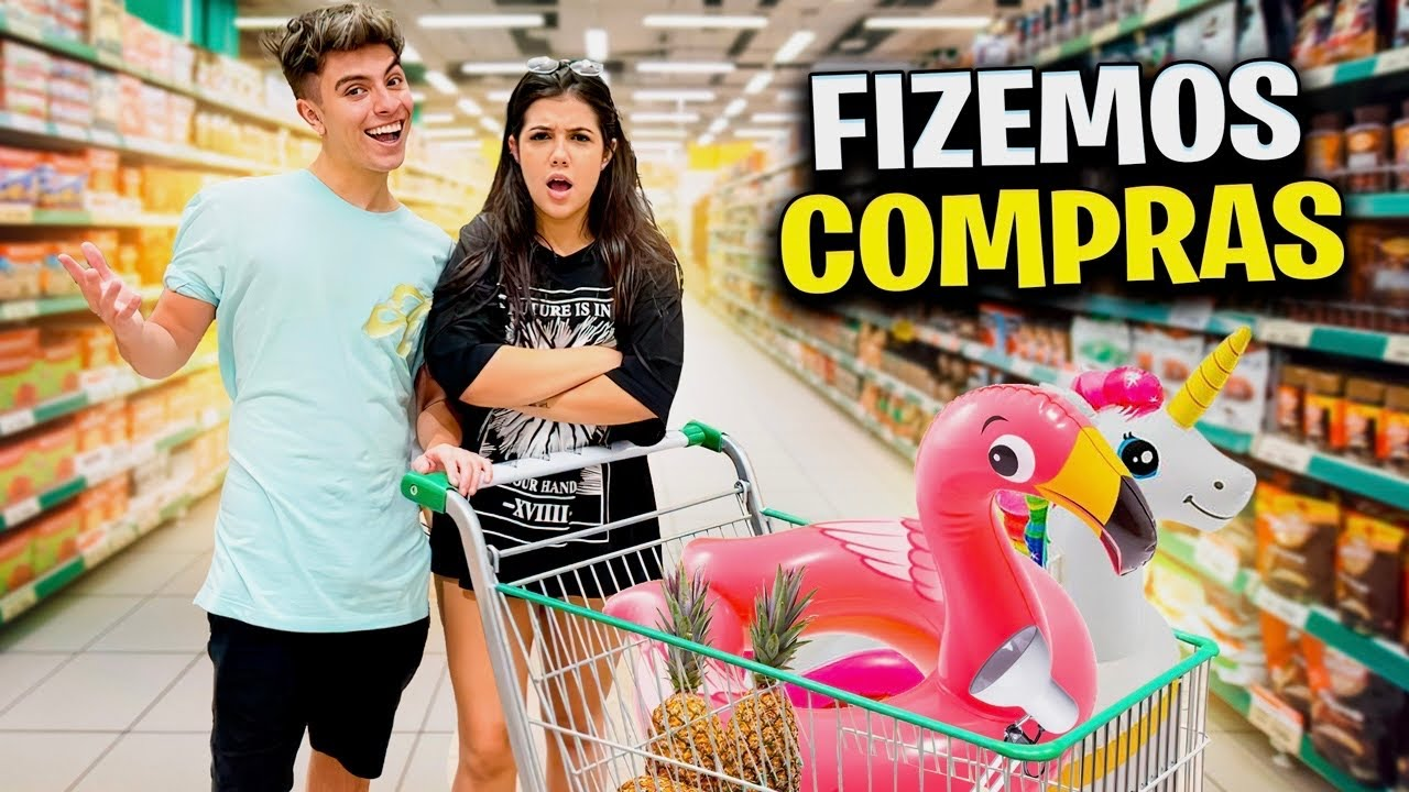 FAZENDO AS COMPRAS DA NOSSA CASA NOVA!