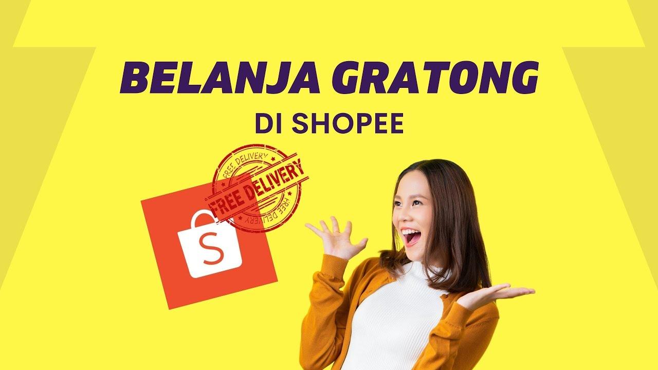 Cara Belanja Gratis Ongkir Di Shopee Youtube