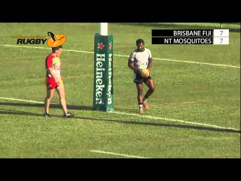 Brisbane Fiji v NT Mosquitos; Hottest 7s 2016; Day One; Field One