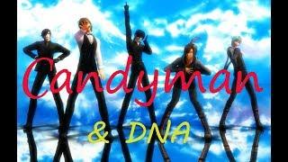 [MMD Basara] - DNA+Candimen ( Motion DL)