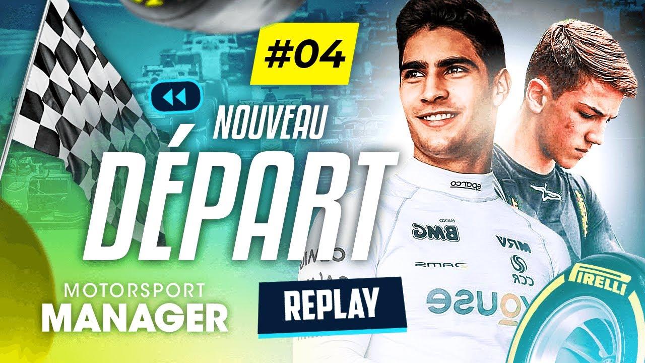 On OUBLIE TOUT et on REDÉMARRE ! (Motorsport Manager #4)