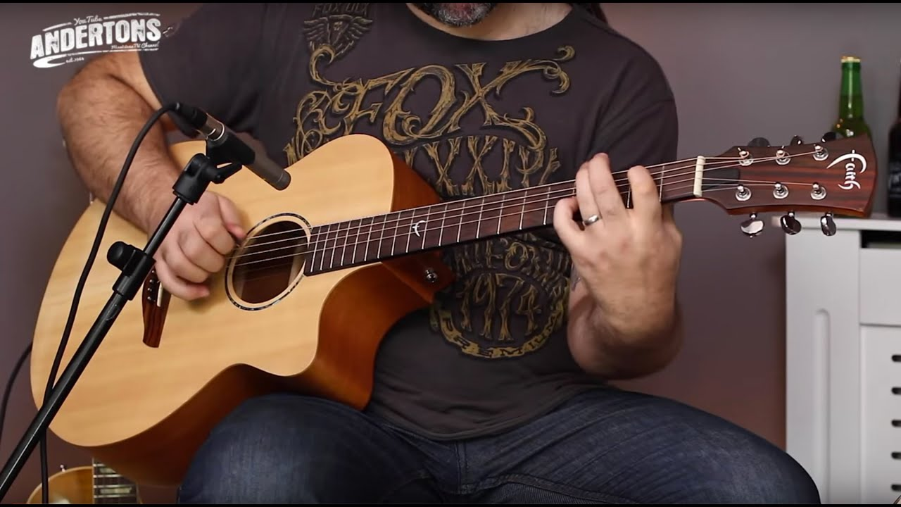 Faith Venus Acoustics - Beautiful All Solid Acoustic Guitars for a Very  Sensible Price!