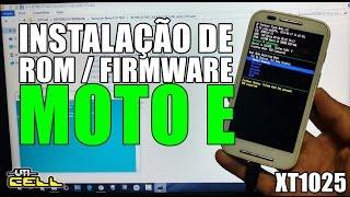 Instalação da Rom/Firmware oficial Android 4.4 no Motorola Moto E (XT1025) #UTICell